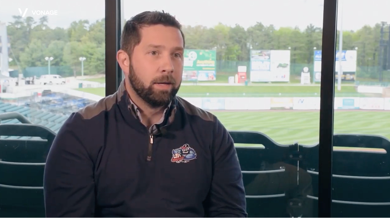 Video customer story about minor league baseball team, Lakewood BlueClaws